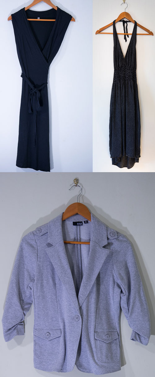 Summer dresses and a light blazer for work