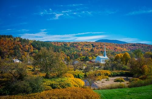 Stowe Vermont in October, 2015