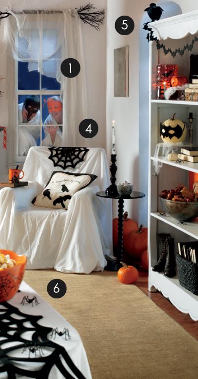 tag halloween decorating