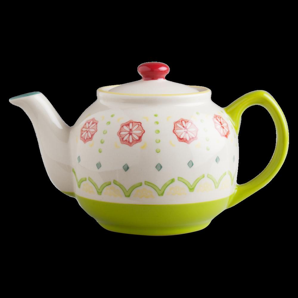 primrose teapot