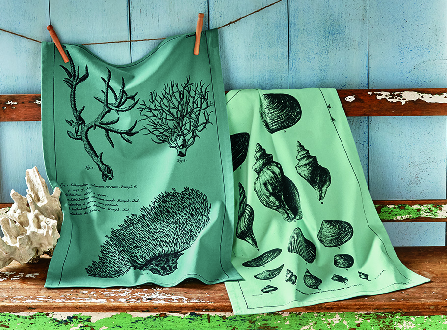 dishtowels are only one of the many products with archival inspired art!