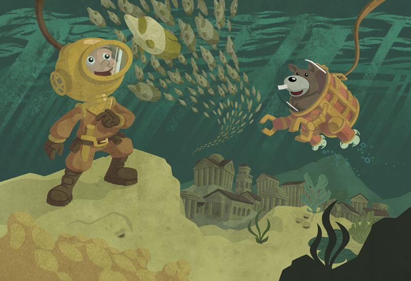Eli & Amos' Great Undersea Adventure