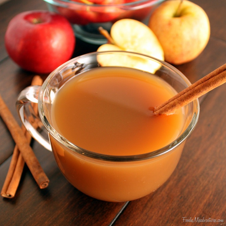 Pinterest  Apples, spices, cinnamon, and more! You could even add some alcohol for a jazzed up version of this delicious drink!