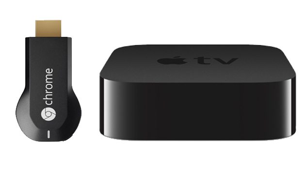 apple tv and chromecast