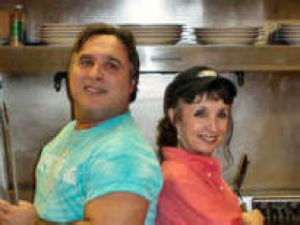 Siblings, Liz and Kevin Larrison are the current owners of Larrison's Diner.