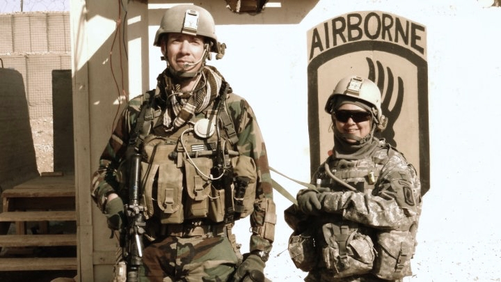 In 2009, the director served with US forces fighting in Afghanistan. This story was inspired by his interpreter.