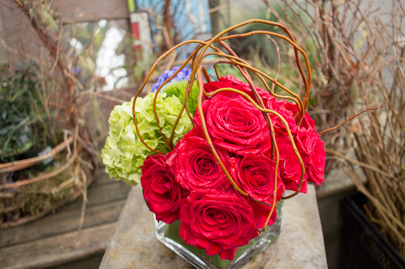 Valentines day flowers flowers on 15th flowers on 15th everlasting arrangement 1g izmirmasajfo
