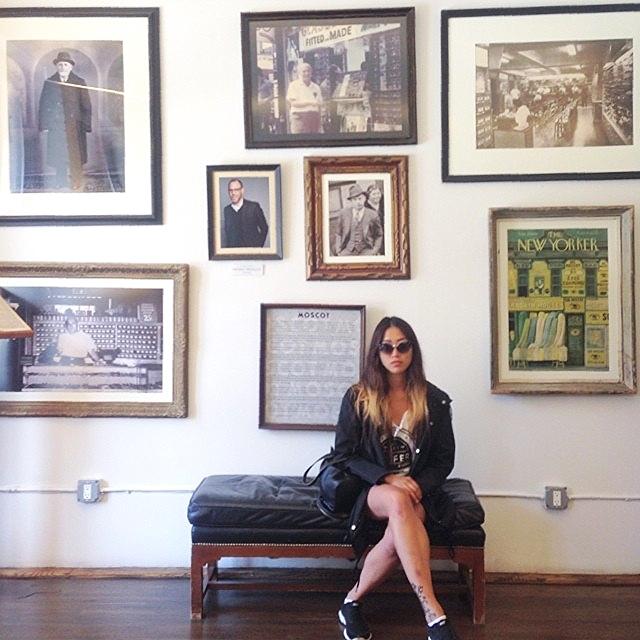 Pam Wong takes MOSCOT, NYC.
