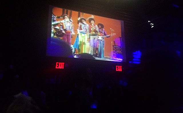 The Jackson 5 and other 60's and 70's soul music filled the night and the projectors.