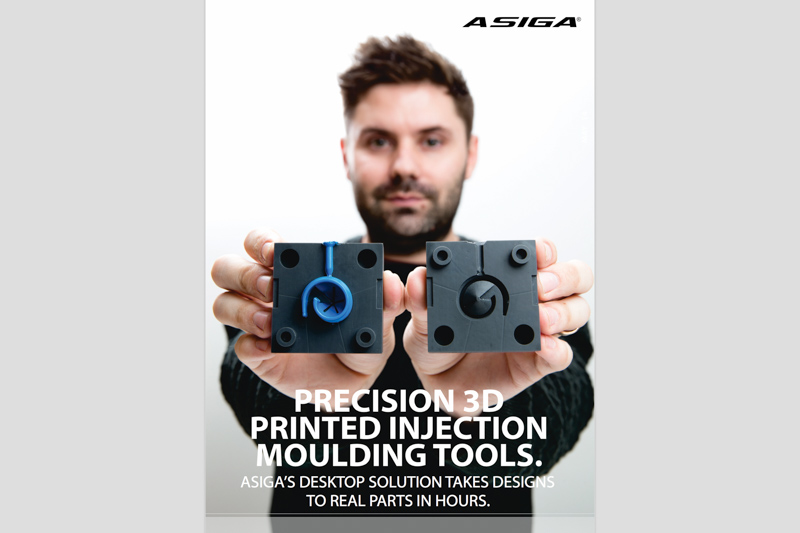 Read Vert designer Mitchell Brown's recent article on the use of 3D printed tooling in tandem with low pressure moulding machines to quickly manufacture real injection moulded parts at low-cost, in TCT Magazine or download the PDF.