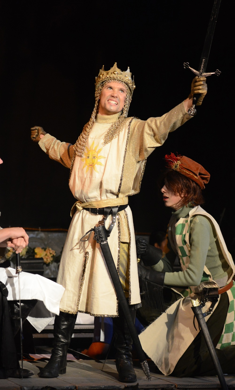Jordan Lemmond in SPAMALOT.