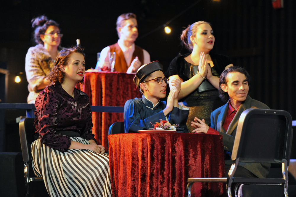 Anything Goes at Santa Barbara High School, Spring 2011. Photo Courtesy of Kristi Sestak