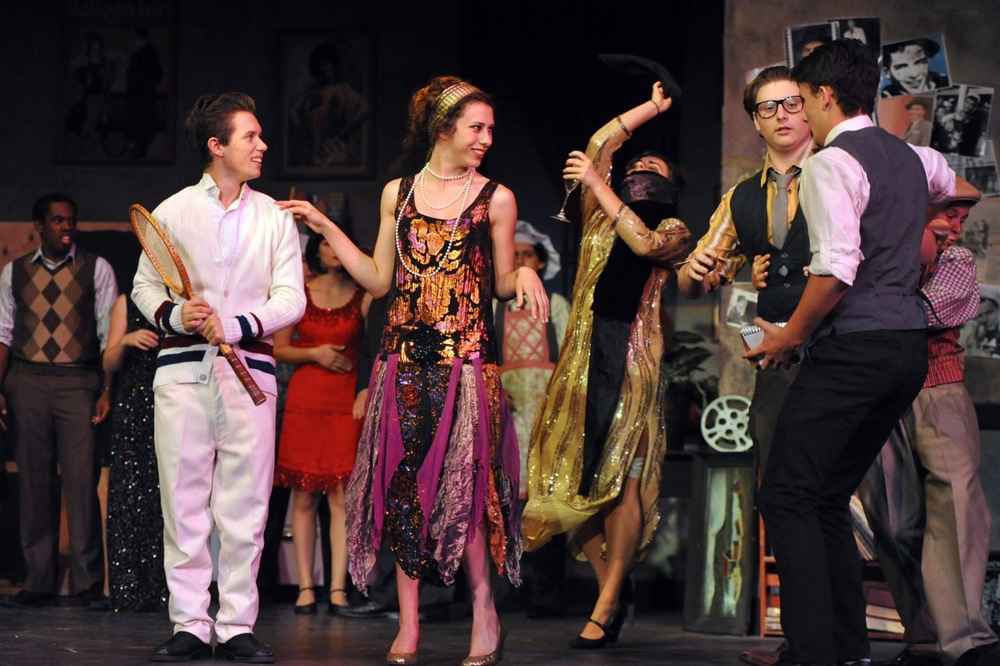 The Drowsy Chaperone at Santa Barbara High School, Fall 2012. Photo Courtesy of Kristi Sestak