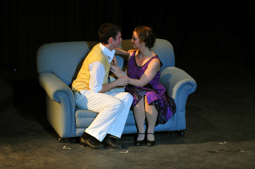 Singin' in the Rain at Santa Barbara High School, Spring 2010. Photo Courtesy of Kristi Sestak