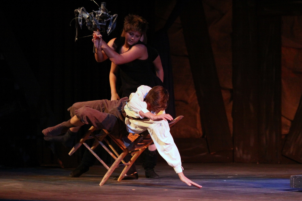 Pinocchio at Santa Barbara High School, Fall 2009. Photo Courtesy of Kristi Sestak