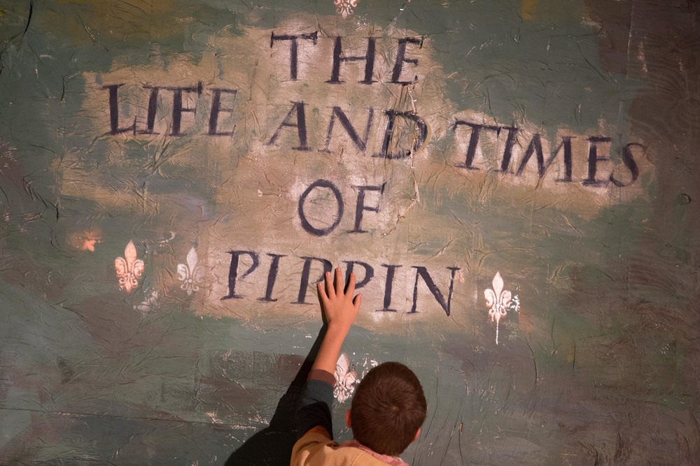 Pippin at Santa Barbara High School Theatre, Fall 2015.