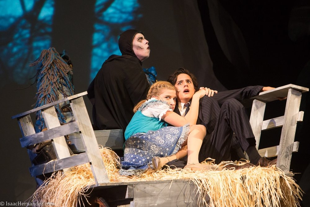 """""""Roll In The Hay"""", Young Frankenstein by Santa Barbara High School Theatre, directed by Otto Layman. November 2016. Photo: copyright © Isaac Hernandez Herrero 2016"""