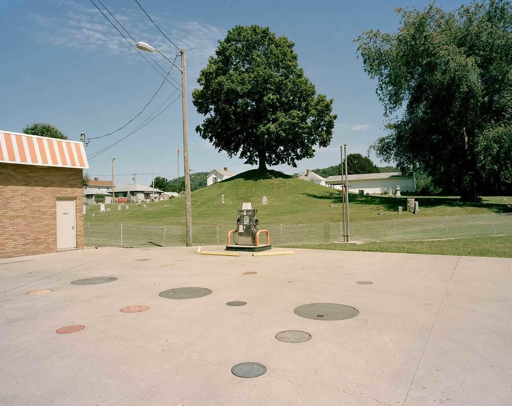 Tiltonsville Cemetery Mound, Tiltonsville, OH