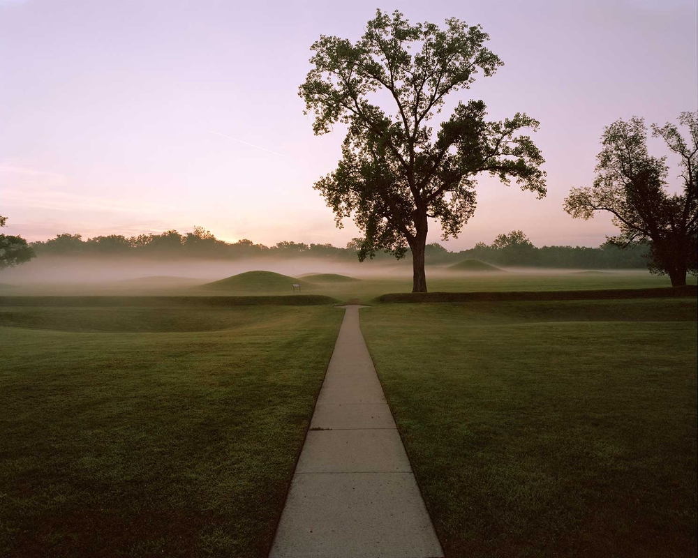 Sunrise, Hopewell Culture National Historical Park, Chillicothee, OH