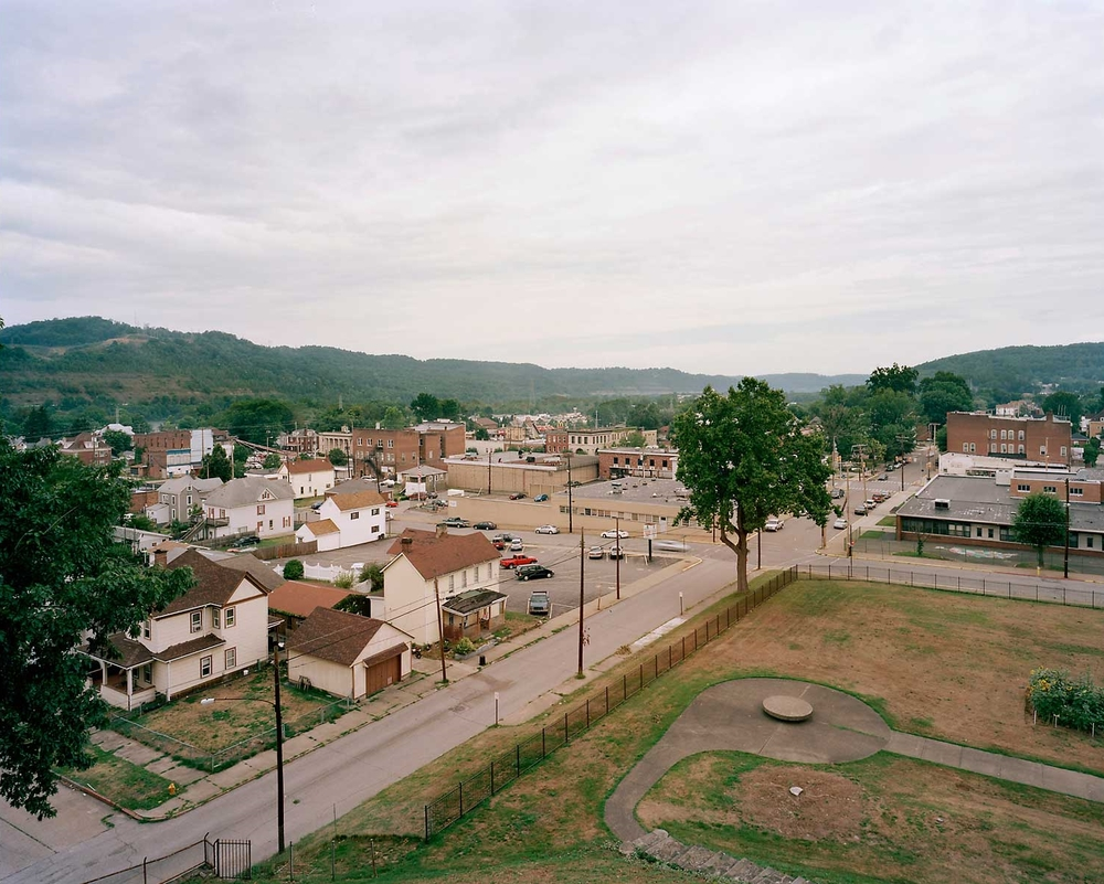 Viewpoint, Grave Creek Mound, Moundsville, WV