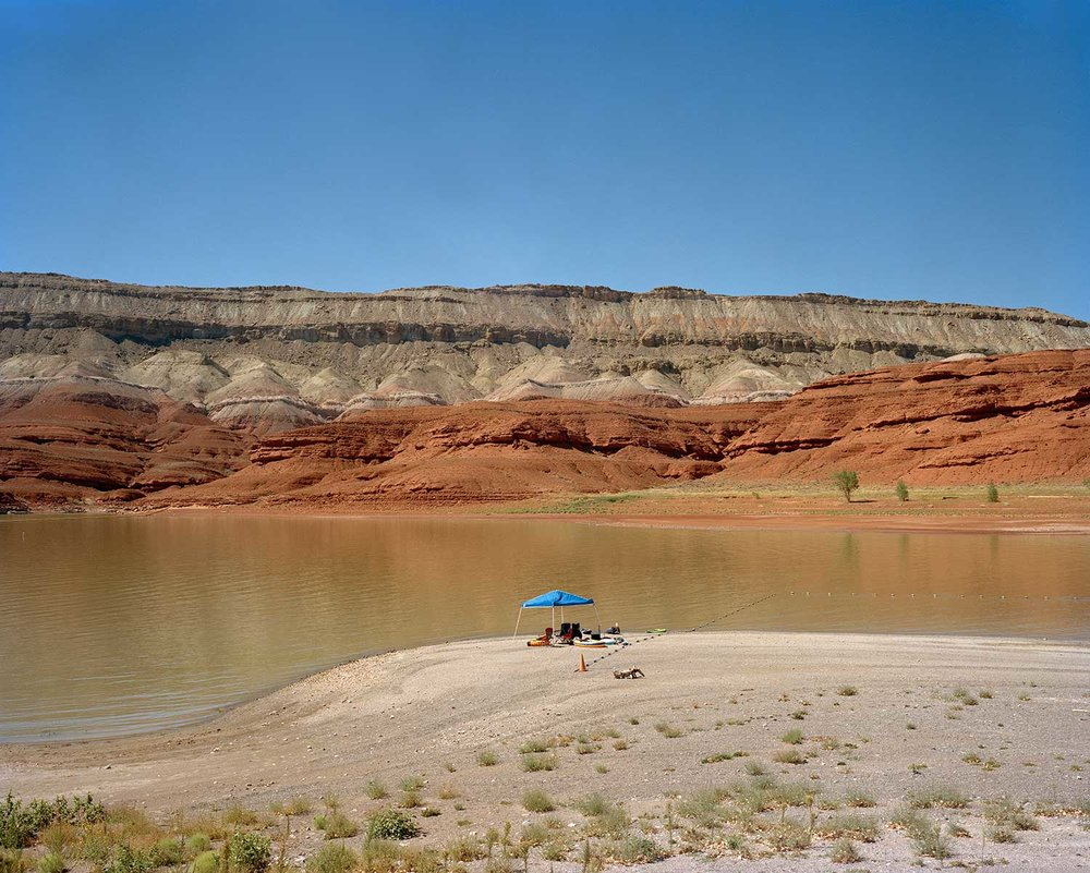 Horseshoe Bend Beach, Bighorn Canyon National Recreation Area, Bighorn County, WY