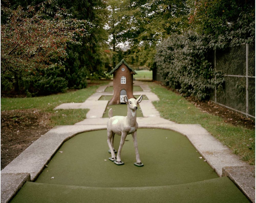 Mini Golf Deer, Little Miami Golf Center, Newtown, OH