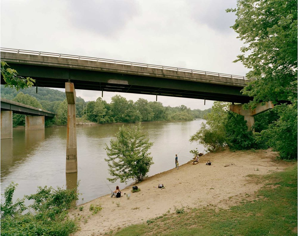 Fishing Beach, Muskingum River, Lowell, OH