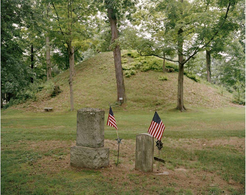 Conus Mound, Mound Cemetery, Marietta, OH
