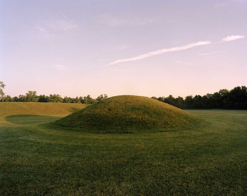 Reconstructed Burial Mound, Hopewell Culture National Historical Park, Chillicothee, OH