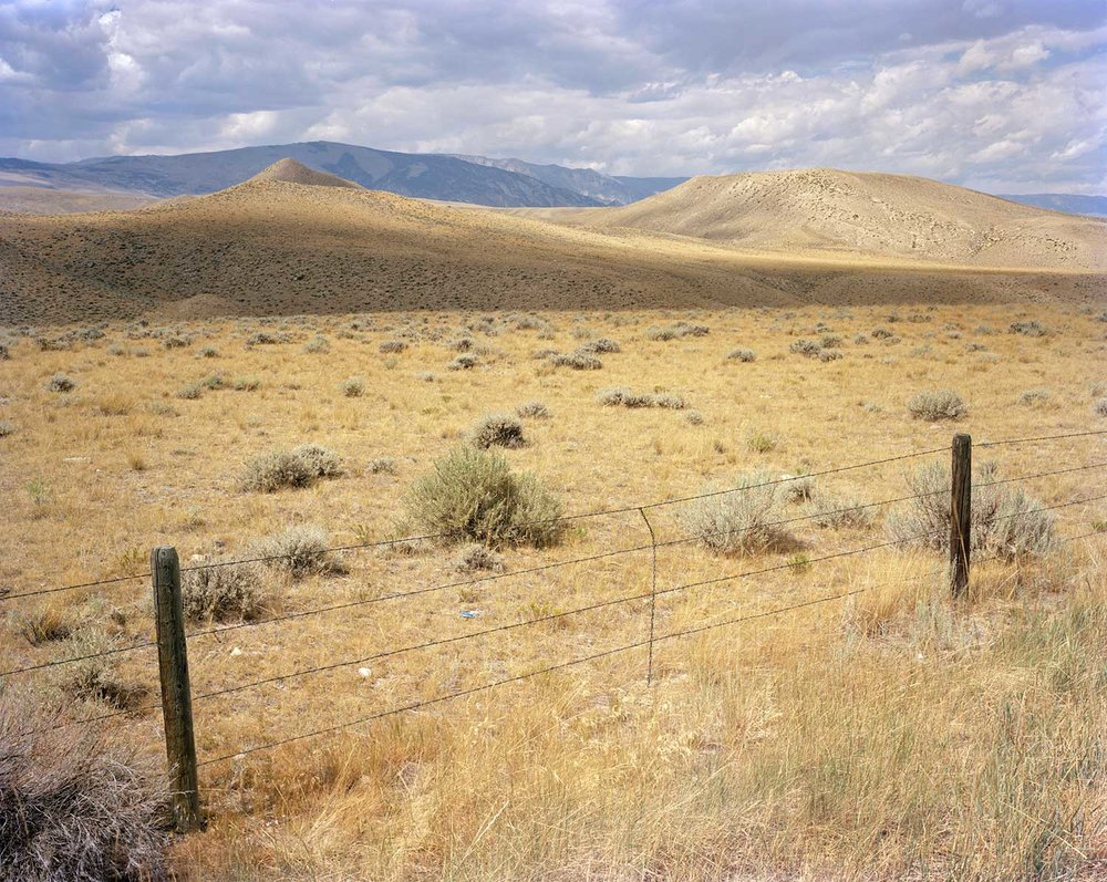 Fenced Land, Nez Perce National Historical Trail, Park County, WY