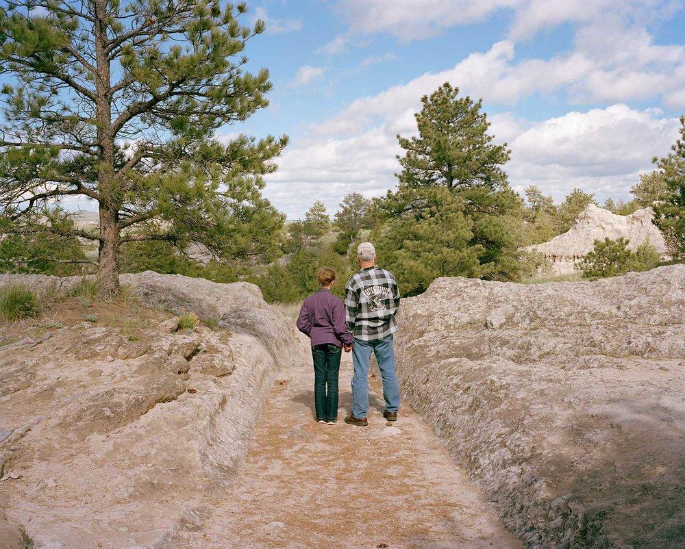 Oregon Trail Ruts, Guernsey, WY