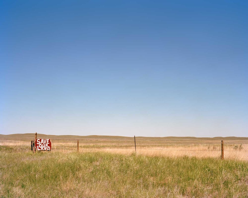 """Save our Land"", Pine Ridge Indian Reservation, SD"