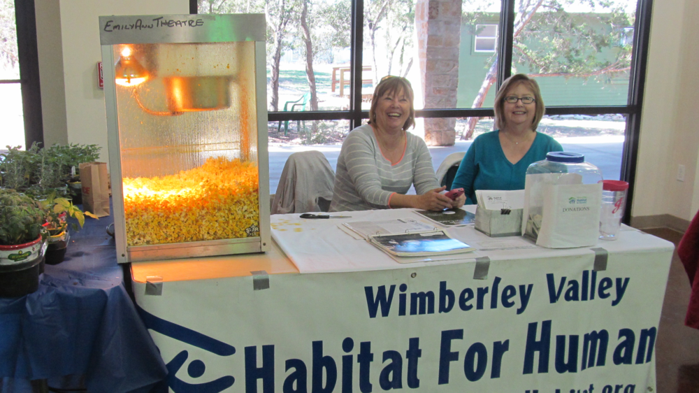 Judy Roach and Liz Wayland representing WVHH at the recent Home & Garden Show.JPG