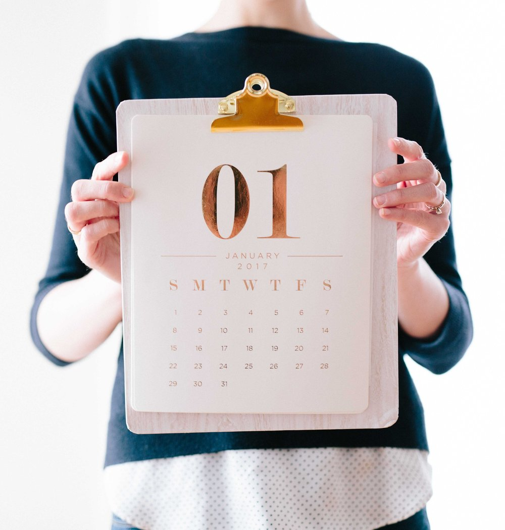 get your free content calendar template guide