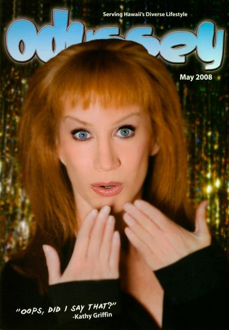 Kathy Griffin - Odyssey Magazine