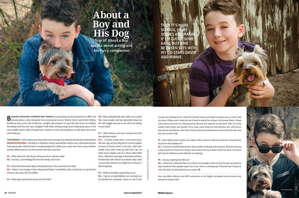 Benjamin Stockham & Pilot - Fido Magazine