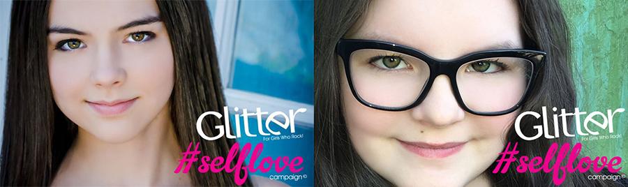 Merit Leighton & Marlowe Peyton- Glitter Magazine #SELFLOVE Campaign