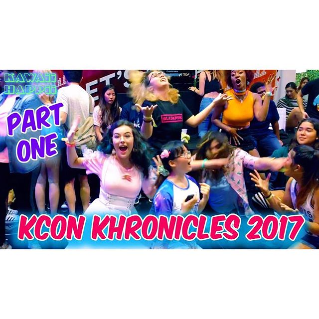 Kcon Khronicles part one! 😊🎉 This year was so amazing!! #Kpop friends, hi-touch, dancing, beauty products, and the concert stay tuned for more segments!! With @katelleno ✨✨✨fell in love with @beautypeople.cosmetics 🎀😊 #youtuber #content ✨🎀💍 bling from @planetcuteshop @kawaii_as_ari 😊😊😊