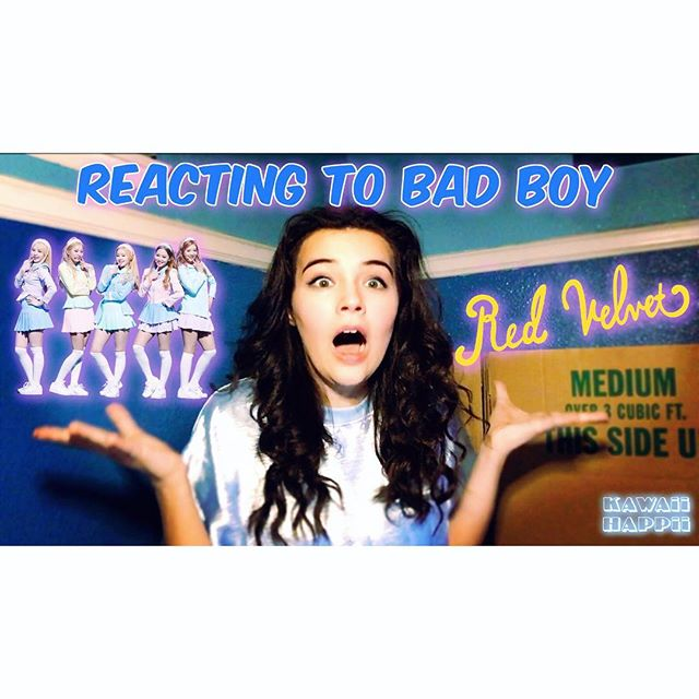 I finally posted my reaction to Red Velvets new comeback Bad Boy!!! It's sooooo groovy I'm dying 😫💕link in bio ⬆️