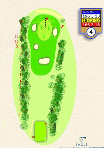 Hole 4 Par 3 (The Road Hole)