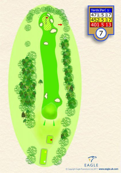Hole 7 Par 5 (Marsh View)