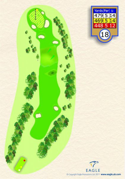 Hole 18 Par 5 (Homeward Bound)