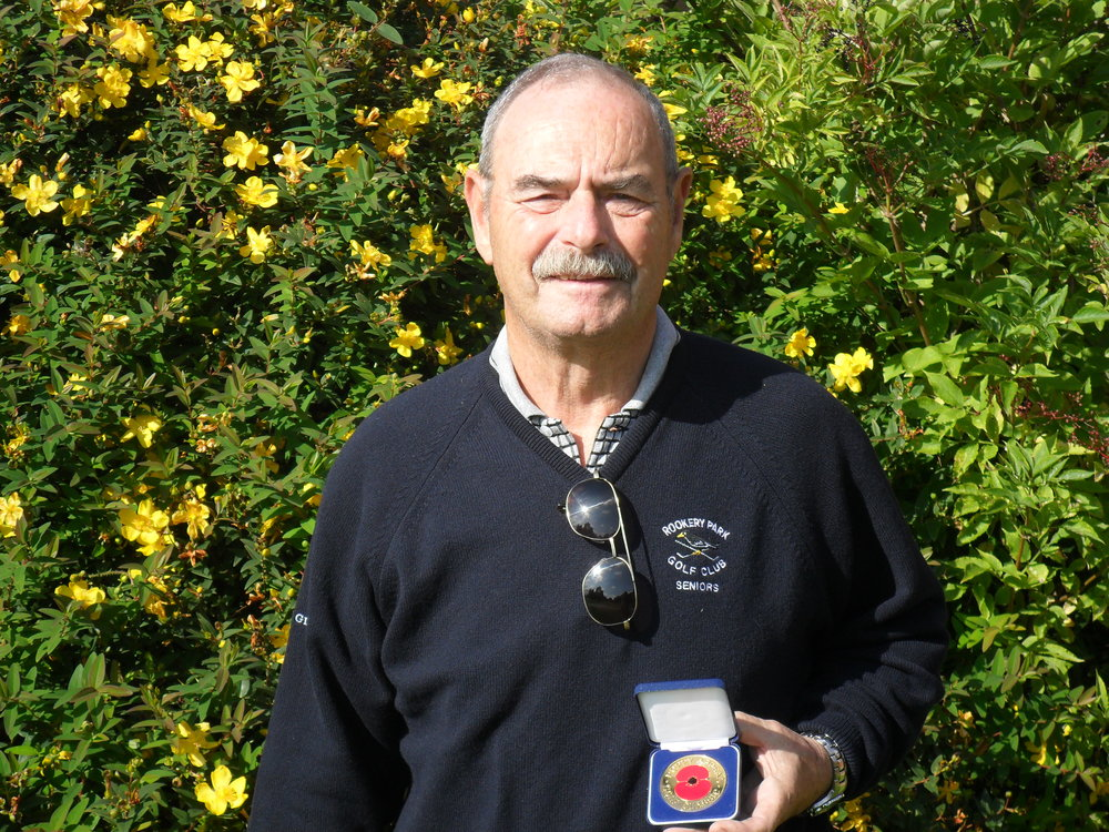 John Symon Warner Cup/Poppy Appeal Medal Winner 2015
