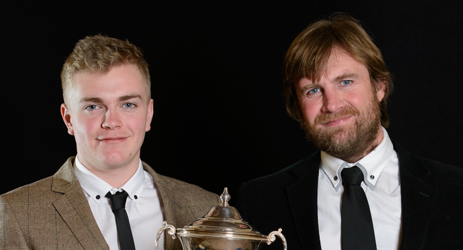 Harry & James Cook Richard Long Salvers winners 2015
