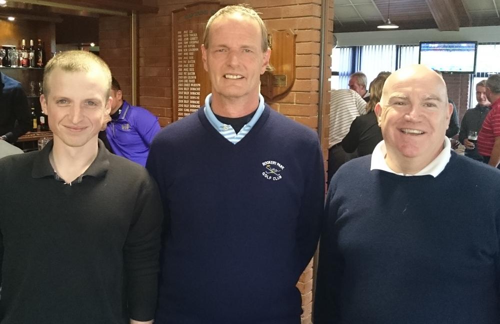 Brendan Lyell, Martin Scott (Vice-Captain), Paul Head