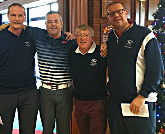 Left to Right: Martin Scott, Gordon Maclean, Billy Groves (Club Captain), and Robert Pettett. Missing from photo is Richard Utton.