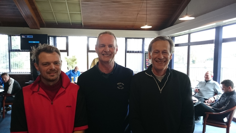 Left to Right: Scott Coleman, Martin Scott (Vice-Captain), & Andy Coleman