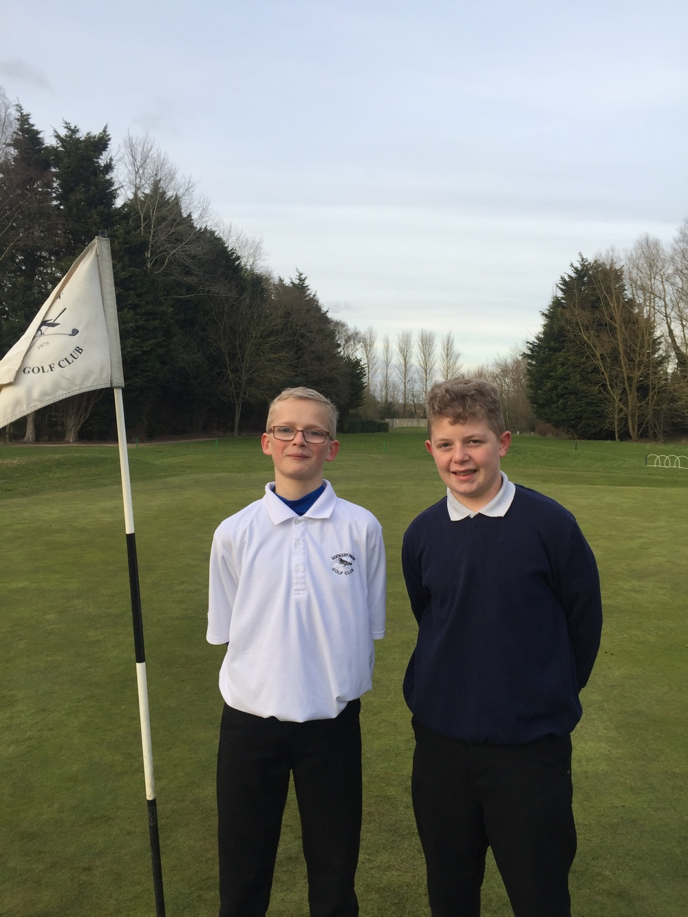 Junior Foursome Winners,  Haydn Wood, Josh Altham