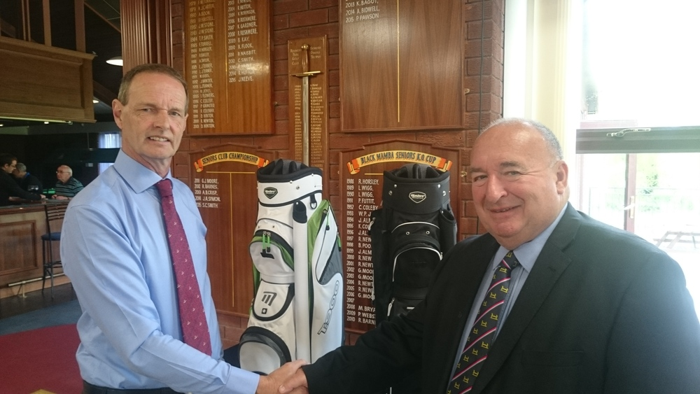 Left to Right: Martin Scott (Club Captain) & Jim Chamberlin