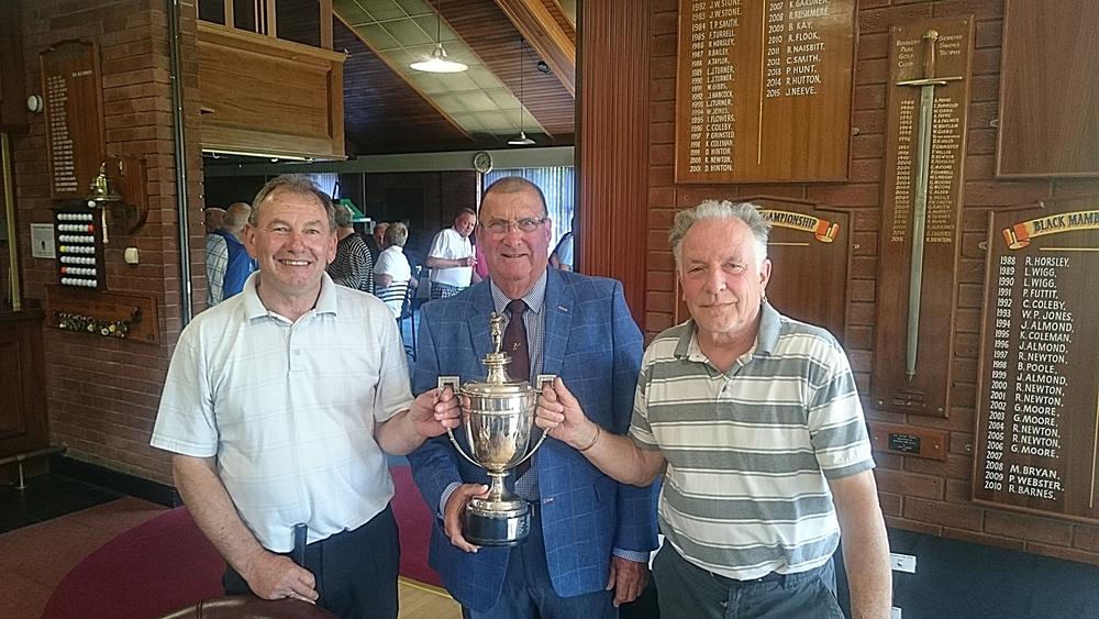 Left to Right: Nigel Wigg, Pat Barton (President), & Trevor Gooch